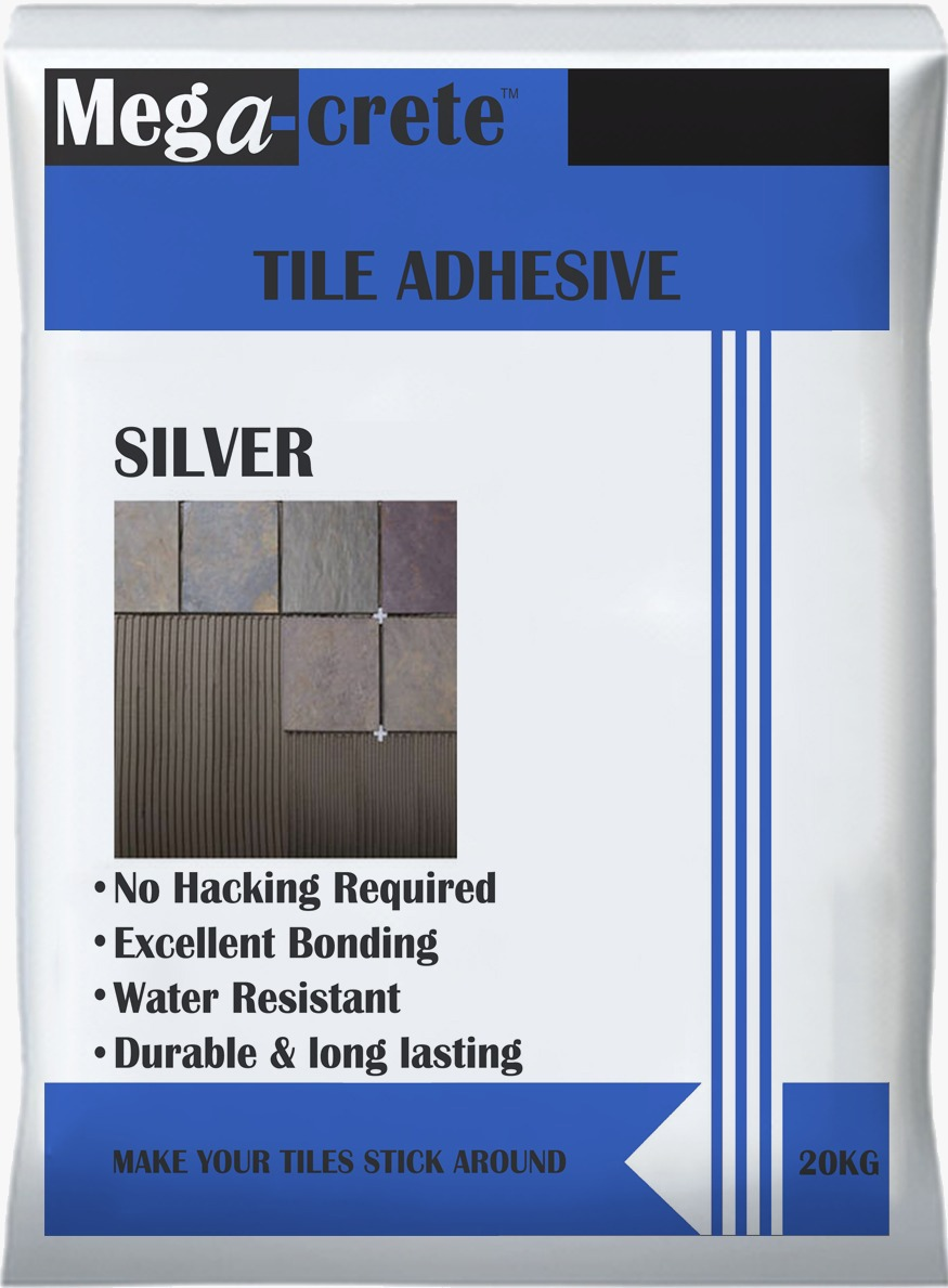 Tile Adhesive - Silver